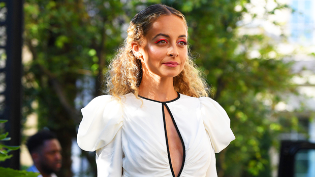 Nicole Richie Sets Her Hair On Fire While Blowing Out Her 40th Birthday Candles — Watch
