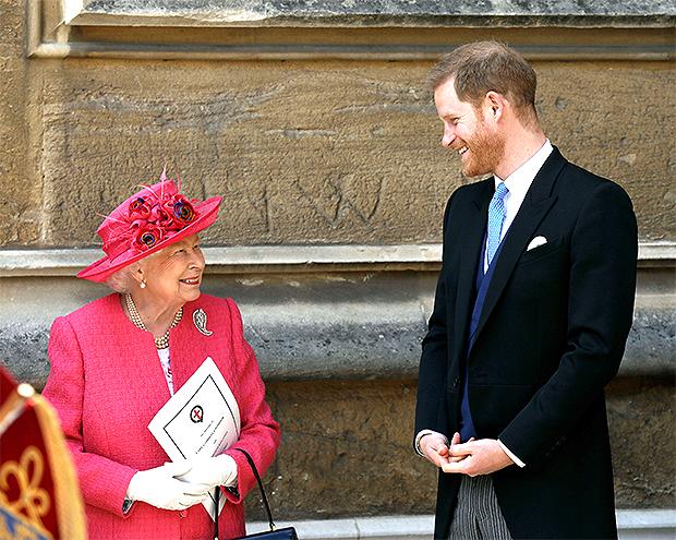 Prince Harry & Queen Elizabeth II