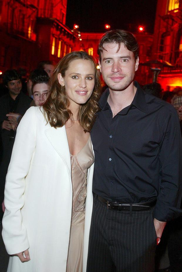 Jennifer Garner & Scott Foley