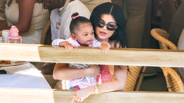 Kylie Jenner's Daughter Stormi, 3, Does Spot On Impression Of Her Mom As She Crashes New Video.jpg