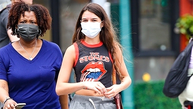 , Suri Cruise Wears Vintage Rolling Stones Tank Top While Out In NYC Without Mom Katie Holmes, The World Live Breaking News Coverage & Updates IN ENGLISH