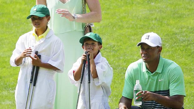 Tiger Woods, Sam Woods, Charlie Woods