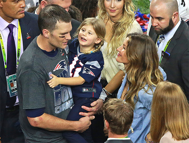 Tom Brady & daughter Vivian