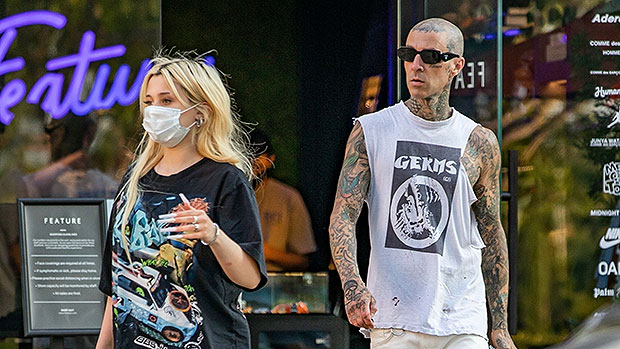 Travis Barker & Daughter Alabama, 15, Go On Shopping Date After His NYC Trip With Kourtney Kardashian