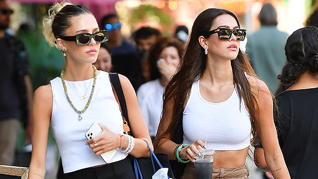, Amelia Hamlin Rocks A White Crop Top On Shopping Outing With Sister Delilah In NYC — Photos, The World Live Breaking News Coverage & Updates IN ENGLISH