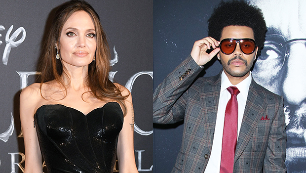 Angelina Jolie & The Weeknd Reunite For Another Dinner Date In LA — Photos