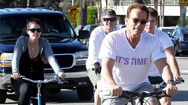 Arnold Schwarzenegger Celebrates Son Patrick's 28th Birthday With All His Kids Except Joseph Baena — Photo.jpg