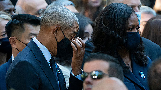 Barack & Michelle Obama Join Bill & Hillary Clinton To Commemorate 9/11 — See More Celeb Tributes.jpg
