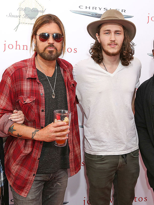 Billy Ray and Breson Cyrus