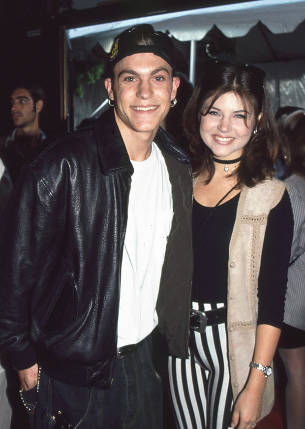 Brian Austin Green and Tiffani Thiessen