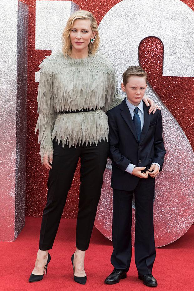 Cate Blanchett & son Ignatius