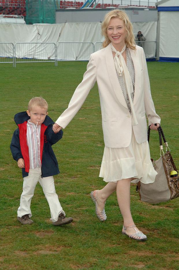 Cate Blanchett & Son Dashiel