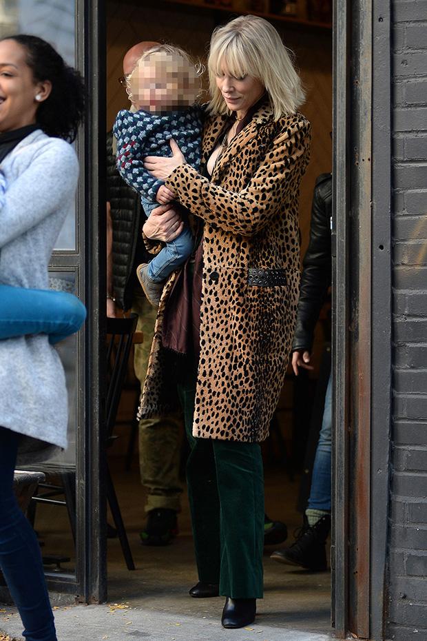 Cate Blanchett & daughter Edith