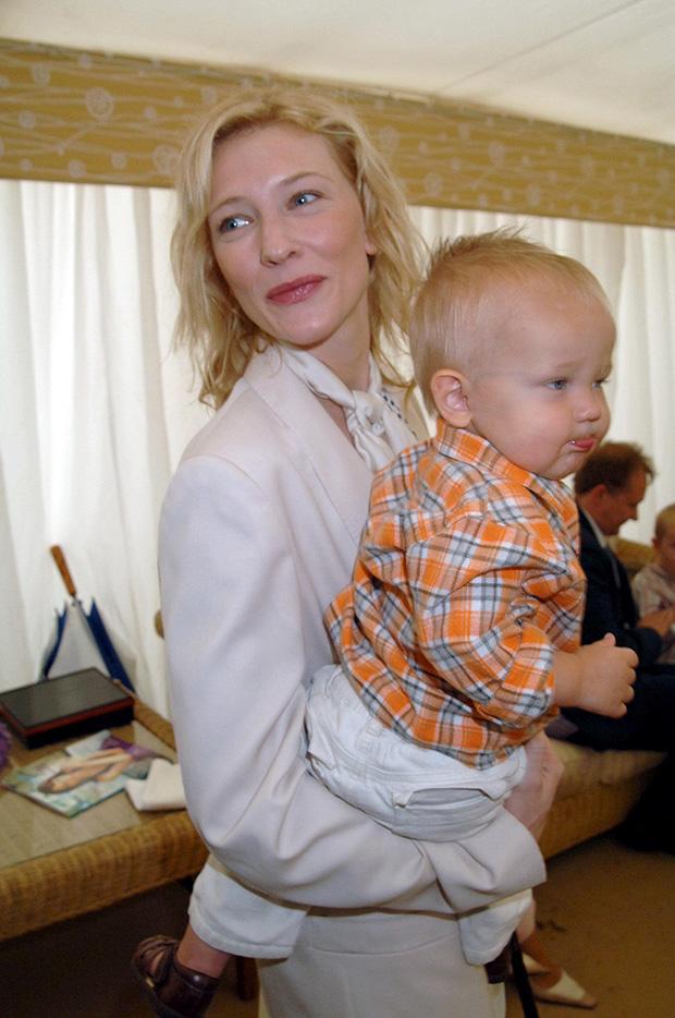 Cate Blanchett & Son Roman