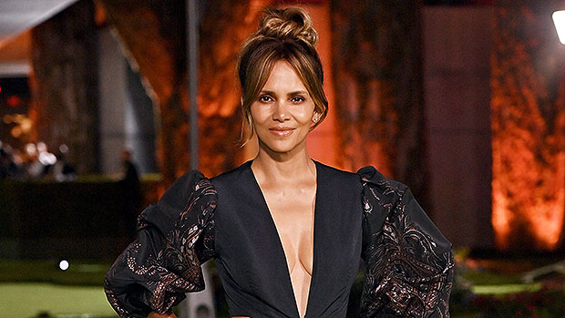 Halle Berry Turns Heads In Deep-V Mini Dress For Oscar Museum Opening With Van Hunt – Photos.jpg