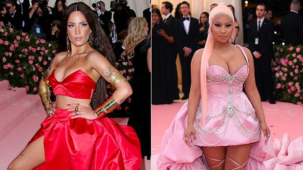 Halsey Skips The Met Gala Because They're Still Breastfeeding & Nicki Minaj Shows Support.jpg
