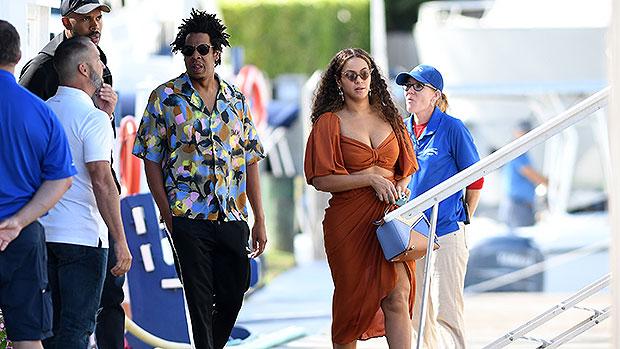 Beyoncé Rocks Sparkly Green Mini Dress On Jeff Bezos' $500M Yacht With Jay-Z.jpg