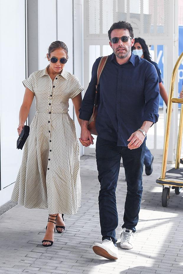 Jennifer Lopez & Ben Affleck