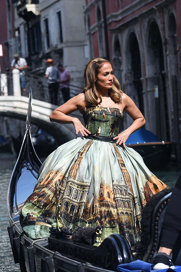 J Lo 52 Is Drop Dead Gorgeous In Strapless Gown Hellip