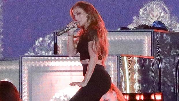 J.Lo Looks Sensational In A Black Crop Top & Leggings During Rehearsals With Ja Rule — Photos.jpg
