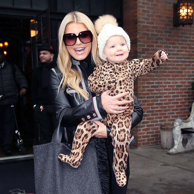 Jessica Simpson & daughter Birdie