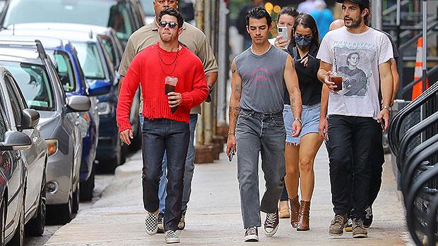 Joe Jonas Wears Muscle Shirt As He Hits The Streets of NYC With Bro Nick — Photo