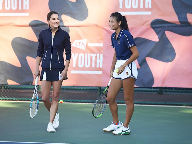 Kate Middleton & Emma Raducanu