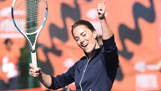 Kate Middleton Rocks Sleek Tennis Skirt & Plays Alongside US Open Winner Emma Raducanu — Photos.jpg