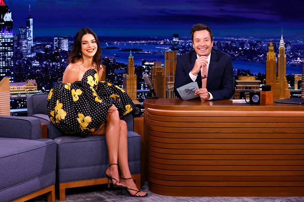 Kendall Jenner & Jimmy Fallon