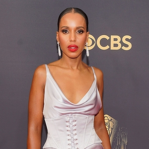 Kerry Washington arrives at the 73rd Primetime Emmy Awards, at L.A. Live in Los Angeles2021 Primetime Emmy Awards - Arrivals, Los Angeles, United States - 19 Sep 2021