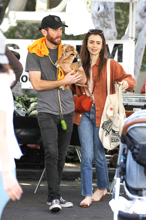 Charlie McDowell & Lily Collins