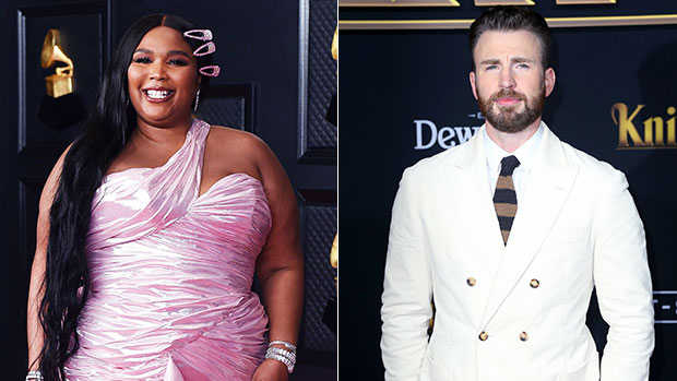 Lizzo Makes Flirty, Yet Solid Case For Being Cast In 'The Bodyguard' Remake With Chris Evans.jpg