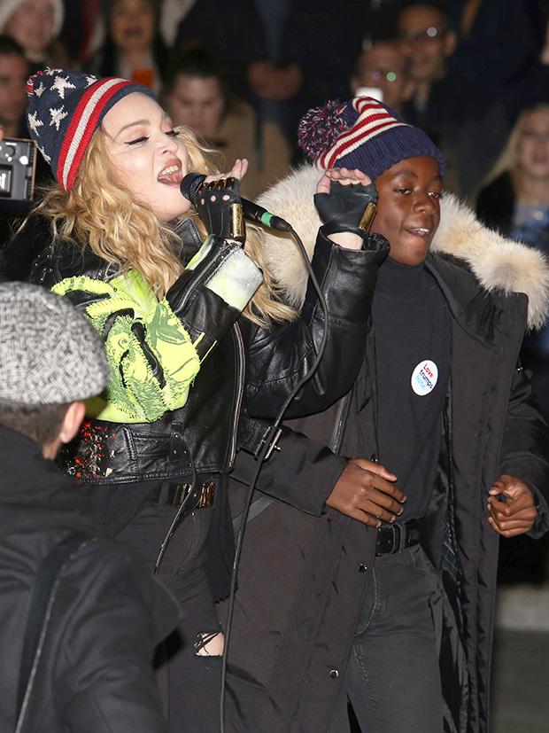 Madonna & David Banda