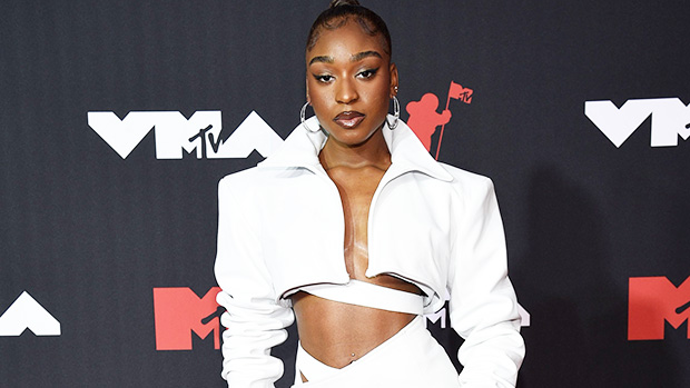 Normani Slays In Sexy Cropped Leather Jacket & Matching Cream Mini Skirt At MTV VMAs — Photos.jpg