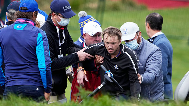 'Harry Potter' Star Tom Felton, 34, Collapses During Golf Tournament — See Photos