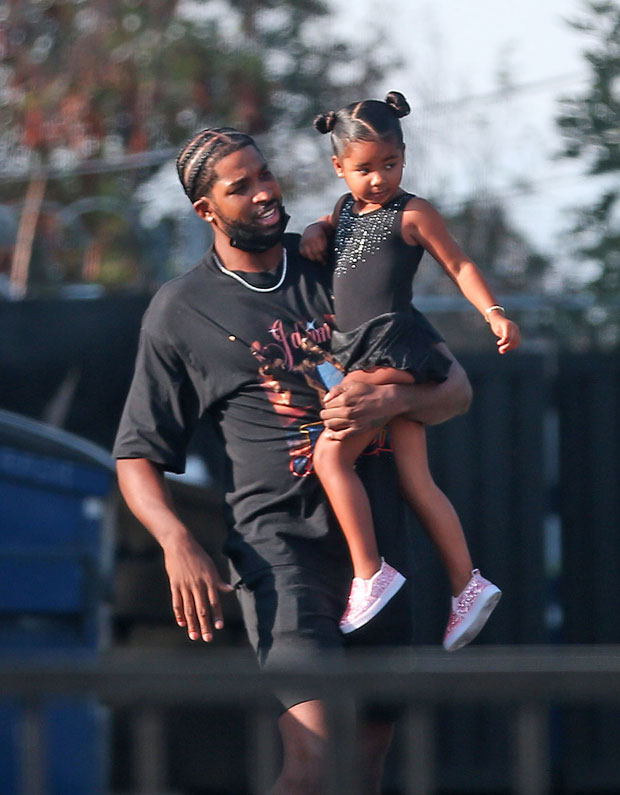 tristan thompson and daughter true