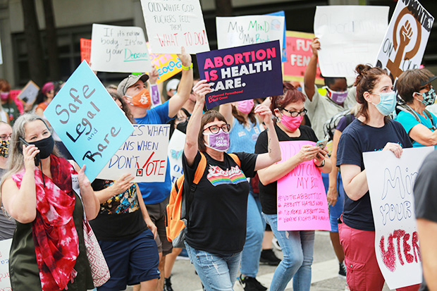womens march 2021 texas