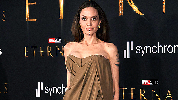 Angelina Jolie In 'Super Isolation' After COVID-19 Exposure At 'Eternals' Premiere She Attended With Kids