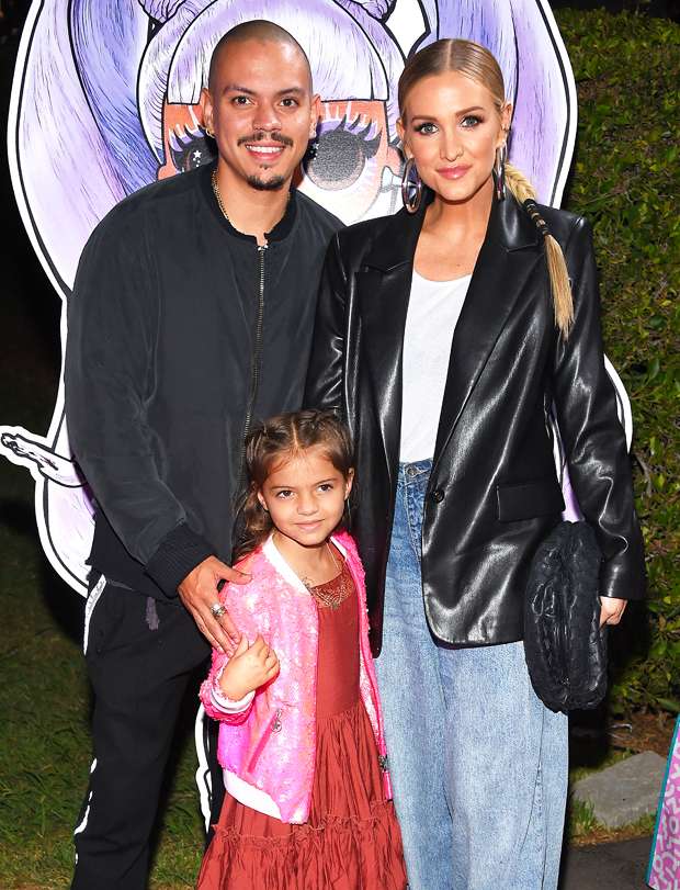 Ashlee Simpson, Evan Ross and daughter Jagger Snow