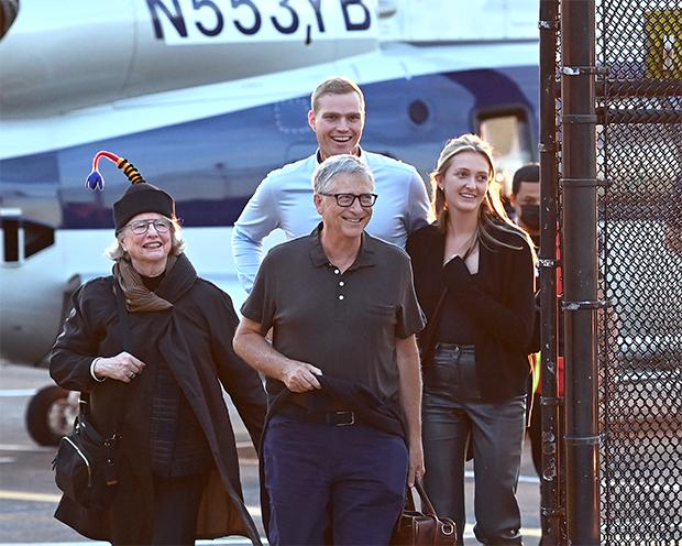 Bill gates & family friends