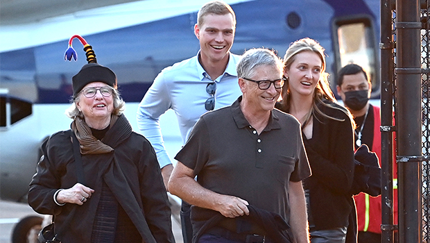 Bill Gates Is Beaming As He Arrives In NYC Ahead Of Daughter Jessica's Wedding — Photos.jpg