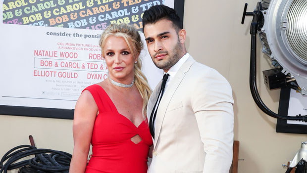 Britney Spears & Fiancé Sam Asghari Load Up On Fast Food Before Going For A Drive – Photos.jpg