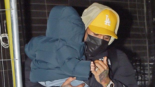 Chris Brown's Son Aeko, 1, Is So Tall As He Shows Off His Adorable Bun.jpg