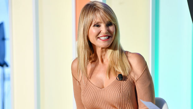 Christie Brinkley, 67, Wears Slinky Nude Dress With High Slit To Ad Week NY — Photos.jpg
