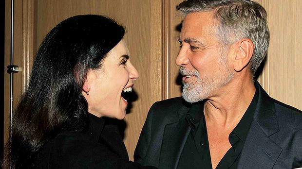 George Clooney Julianna Margulies