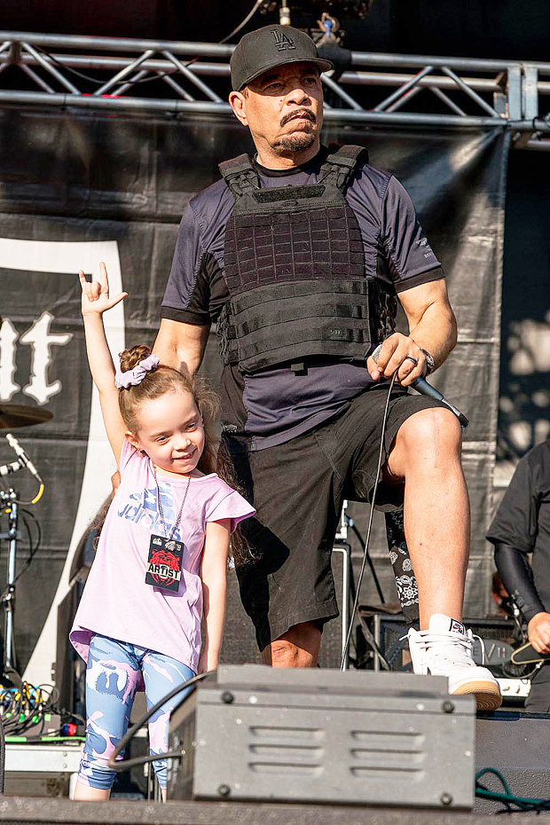 Ice-T with girl  Chanel