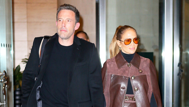 J.Lo Looks Stylish In Brown Leather Outfit While Holding Hands With Ben Affleck In NYC.jpg