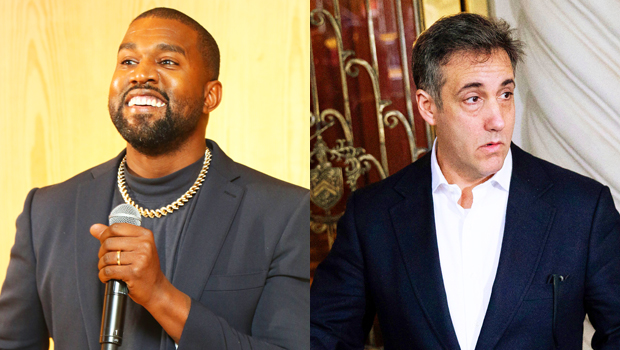 Kanye West Has 2nd Meeting With Trump's Ex Lawyer Michael Cohen & Wears Odd Face Mask.jpg