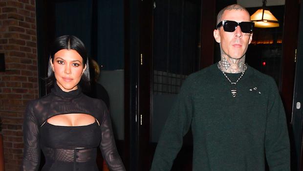 Kourtney Kardashian Rocks Sexy Sheer Mini Dress As She Holds Hands With Travis Barker.jpg