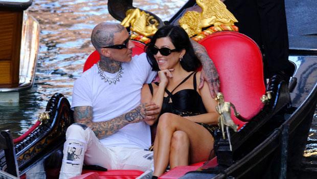 Kourtney Kardashian & Travis Barker Relish In Calling Each Other 'Fiancé' In New Engagement Pics.jpg